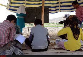 حکایت معلم فداکار لرستانی