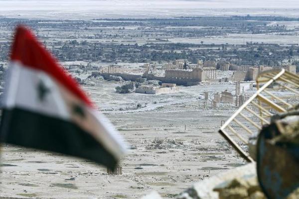 داعش وارد پالمیرا شد