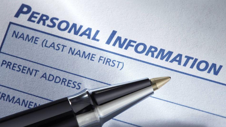اطلاعات شخصی رزومه